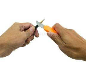pencil-sharpening-sharpened-orange-utility-knife-54552460